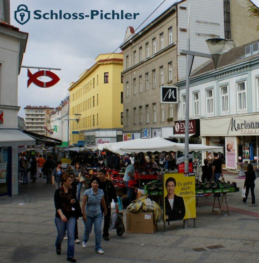 Schloss öffnen in Wien